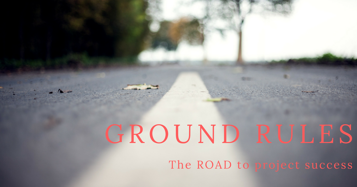 Ground rules for project team